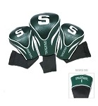 Michigan State Spartans Set of 3 Contour Head Covers