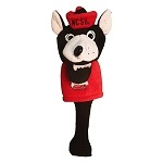 North Carolina State Wolfpack Mascot Golf Headcover