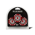 North Carolina State Wolfpack 3 Pack Poker Chip