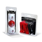 NCAA 3 Ball/50 Tee Pack Gift Set