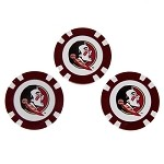 Florida State Seminoles 3 Pack Poker Chip