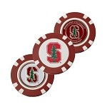 Stanford Cardinals 3 Pack Poker Chip