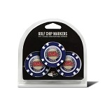 Mississippi Rebels 3 Pack Poker Chip