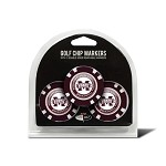 Mississippi State Bulldogs 3 Pack Poker Chip