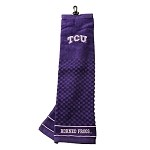 Texas Christian (TCU) Horned Frogs Embroidered Golf Towel