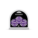 Texas Christian University (TCU) Horned Frogs 3 Pack Poker Chip