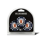 Syracuse Orange 3 Pack Poker Chip