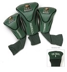 North Texas Mean Green Golf Contour Fit Headcover Set