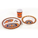 Auburn Tigers Kid's 3 Pc. Dish Set