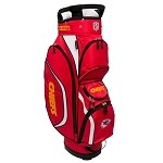 Team Golf NFL Kansas City Chiefs Clubhouse Golf Cart Bag