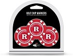Rutgers Scarlet Knights 3 Pack Poker Chip