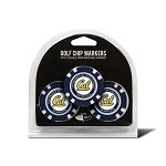 Cal-Berkeley Golden Bears 3 Pack Poker Chip