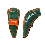 Miami Hurricanes Hybrid Golf Head Cover