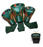 Miami Hurricanes Contour Head Covers