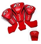 Utah Utes Golf Contour  Headcover Set