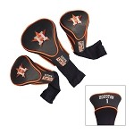 Houston Astros Set of 3 Contour Head Covers