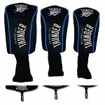 NBA Oklahoma City Thunder 3-Pack Mesh Headcovers