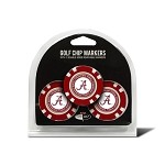 Alabama Crimson Tide 3 Pack Poker Chip