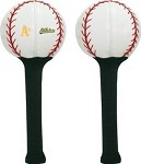 Oakland A's Baseball Golf Driver Head Cover