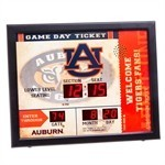 Auburn Tigers Bluetooth Scoreboard Wall Clock