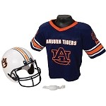 Auburn Tigers Franklin Sports NCAA Youth Helmet and Jersey Set