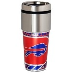 Buffalo Bills Stainless Steel Travel Tumbler