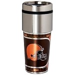Cleveland Browns Stainless Steel Travel Tumbler
