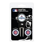 Chicago Cubs World Series Champions Divot Tool Set