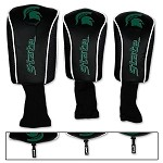 Michigan State Spartans Golf Head Cover Set of 3