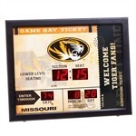Missouri Tigers Bluetooth Scoreboard Wall Clock