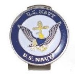 U.S. Navy Golf Hat Clip