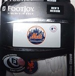 FootJoy-New York Mets Glove Mens Medium (Left hand glove, for right handed golfers)