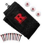 Rutgers Scarlet Knights Embroidered Golf Gift Set