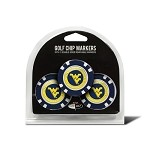 West Virginia Mountaineers 3 Pack Poker Chip