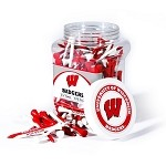 Wisconsin Badgers 175 Tee Jar