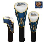 UCLA Bruins Nylon Graphite Golf Set of 3 Headcovers