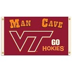Virginia Tech HokiesMan Cave 3 Ft. X 5 Ft. Flag W/ 4 Grommets