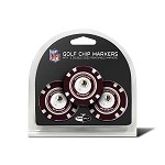 Washington Redskins NFL Set of 3 Poker Chips