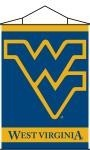 West Virginia Mountaineers Indoor Banner Scroll