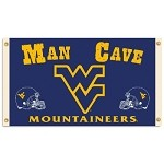 West Virginia MountaineersMan Cave 3 Ft. X 5 Ft. Flag W/ 4 Grommets