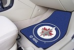 Winnipeg Jets NHL Two Piece Car Mat