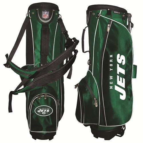 New York Jets Wilson NFL Golf Stand Bag