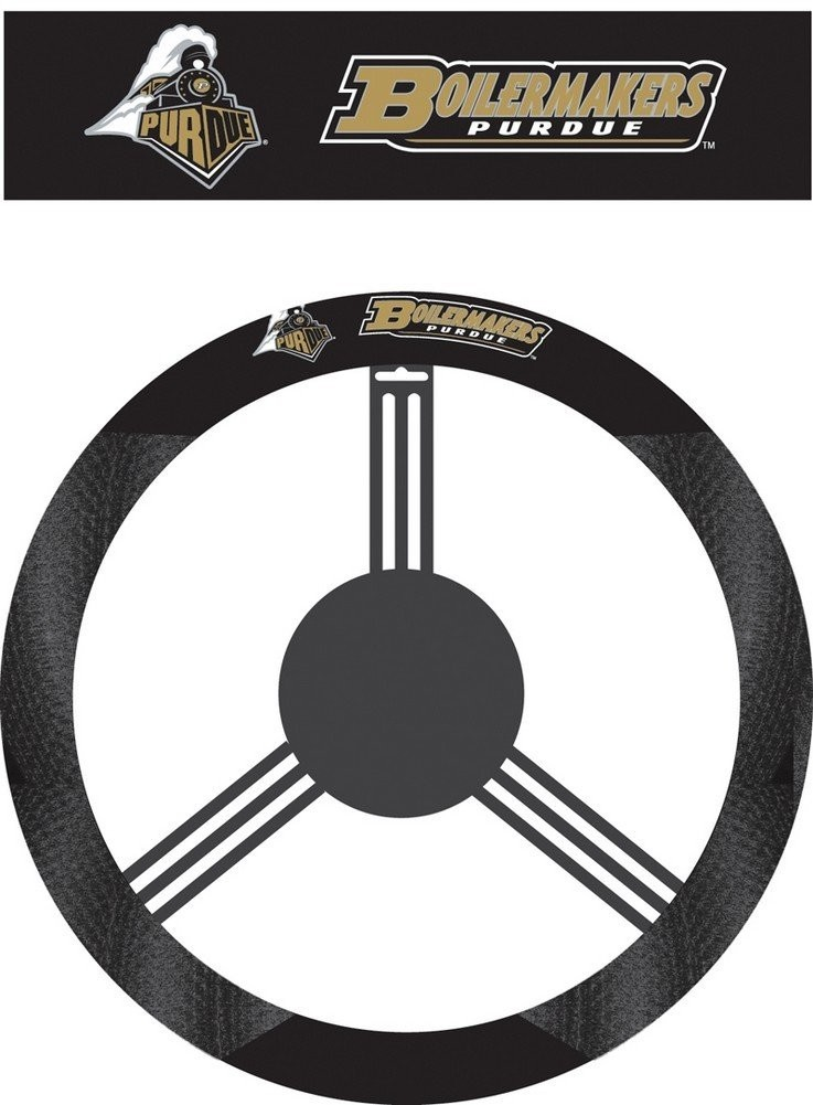 Purdue Steering Wheel Cover