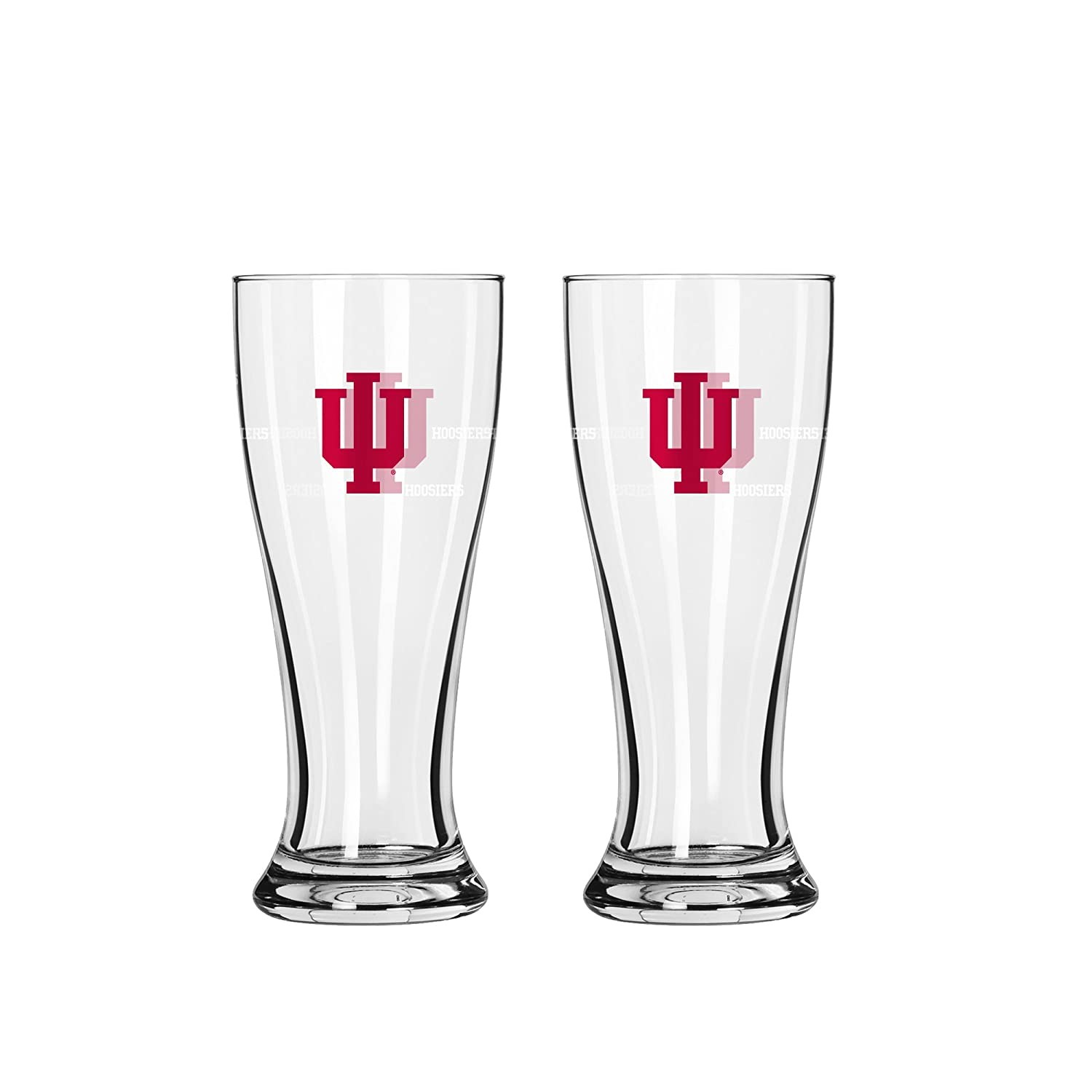NCAA Indiana Hoosiers 2.5-Ounce Mini Pilsners Shot Glasses  (Pack of 2)