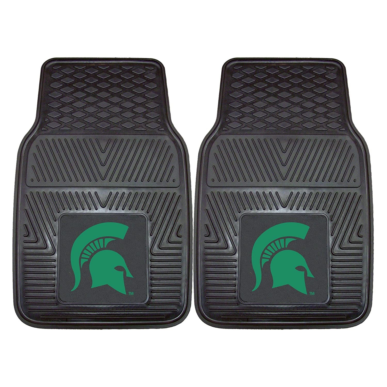 FANMATS NCAA Michigan State University Spartans Vinyl Heavy Duty Car Mat