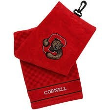 Cornell Big Red Embroidered Golf Towel