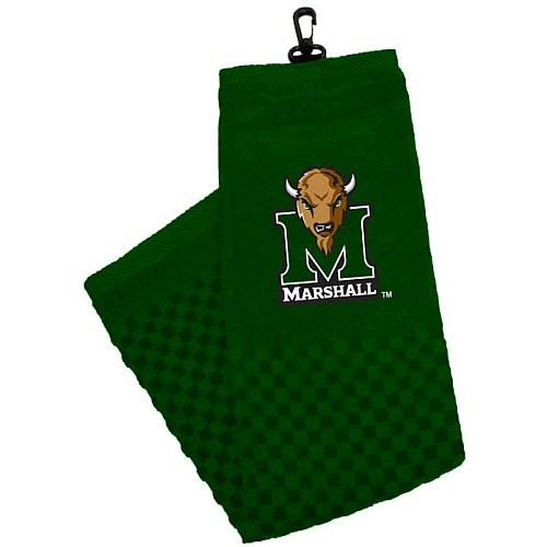 Marshall Thundering Herd Embroidered Golf Towel